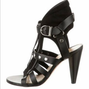IRO Vero Cuoio Made in Italy Black leather & Suede - NEW